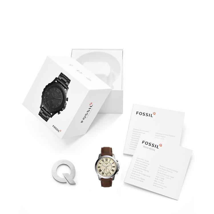 Ftw1118 Fossil Q Grant Hybrid Smartwatch For Sale Online Juwelen