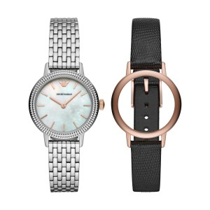 AR80020 Armani Interchangeable dames horloge