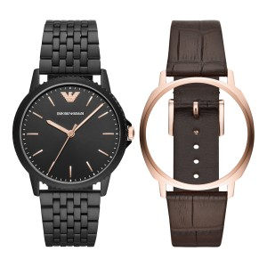 AR80021 Armani Interchangeable herenhorloge